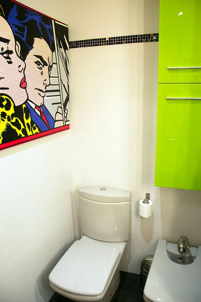 Antes y despu s el ba o de hadas y cuscus reformado - Pintar los azulejos ...