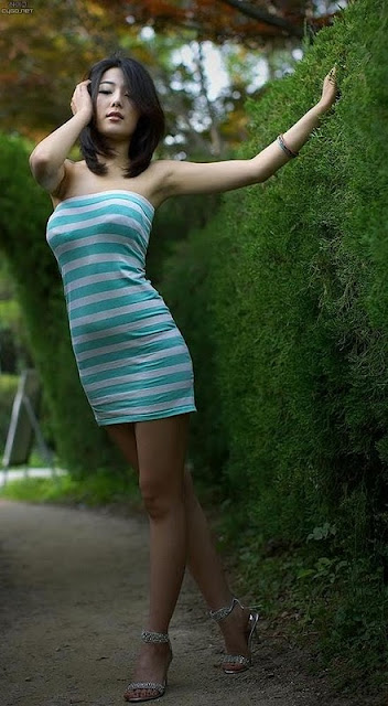 Korean Model Jo Sang Hee