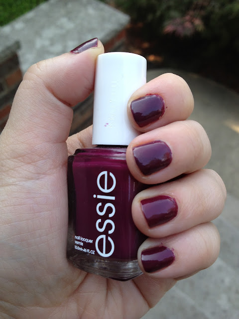 Nail of the Day-Essie Bahama Mama