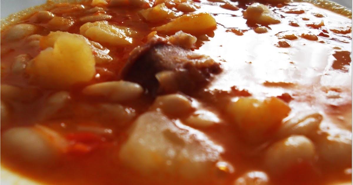 Las recetas de pipi judias blancas con chorizo y patata - Judias con chorizo y patatas ...