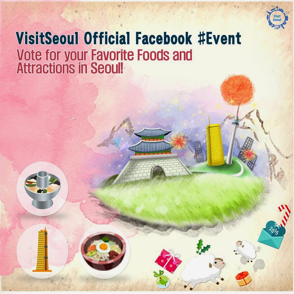 Promoção VisitSeoul -  Concorra a uma viagem  para a Coreia!