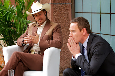 The Counsellor Brad Pitt & Michael Fassbender