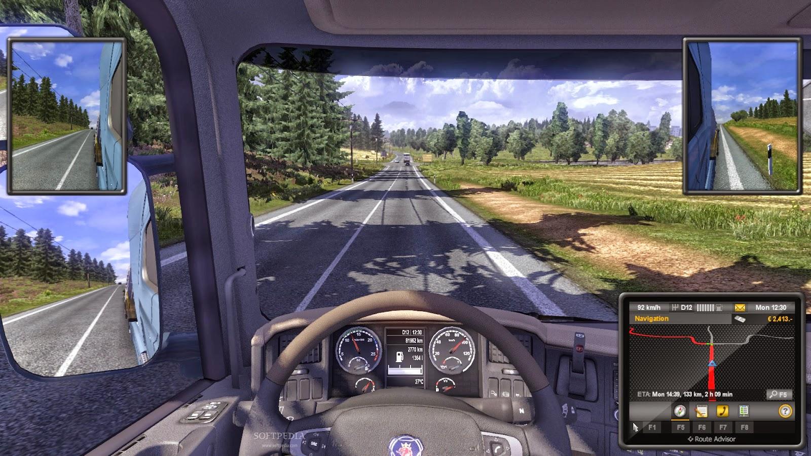 Euro Truck Simulator 2 para Linux