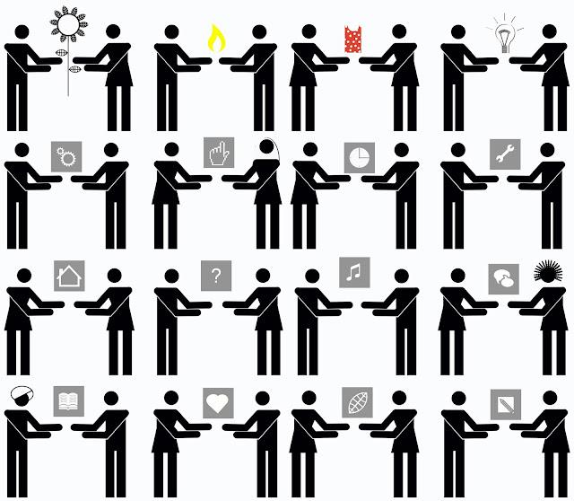 isotipos, intercambios, pictogramas