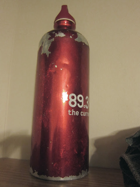 89.3 the current metal water bottle