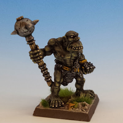 Giant Black Orc Mace 2, Citadel (sculpted by Bob Olley, 1990)