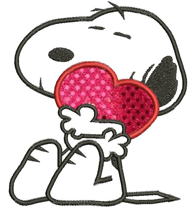 Snoopy Heart Facebook