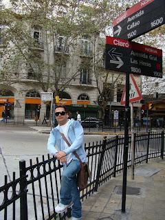 ruas da Recoleta em Buenos Aires