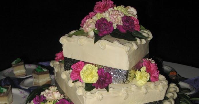Box wedding cake recipes