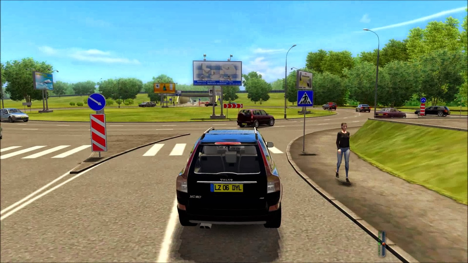 car driving games