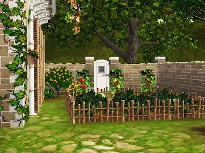 garden house sims 3 republic