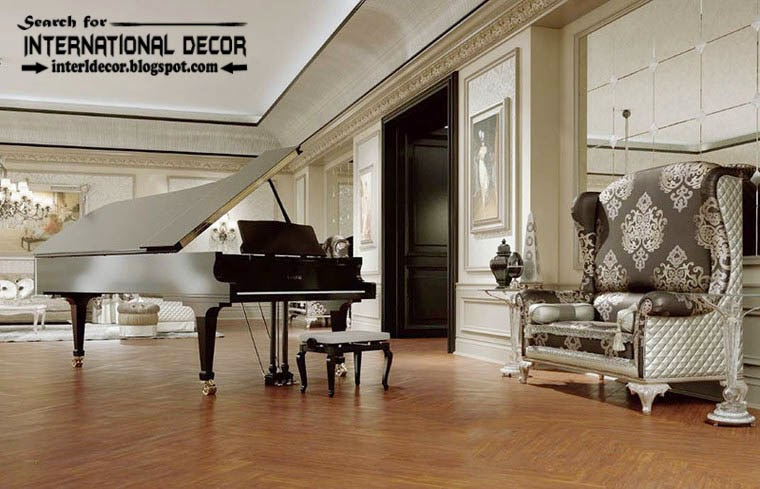 classic interior design decor and furniture