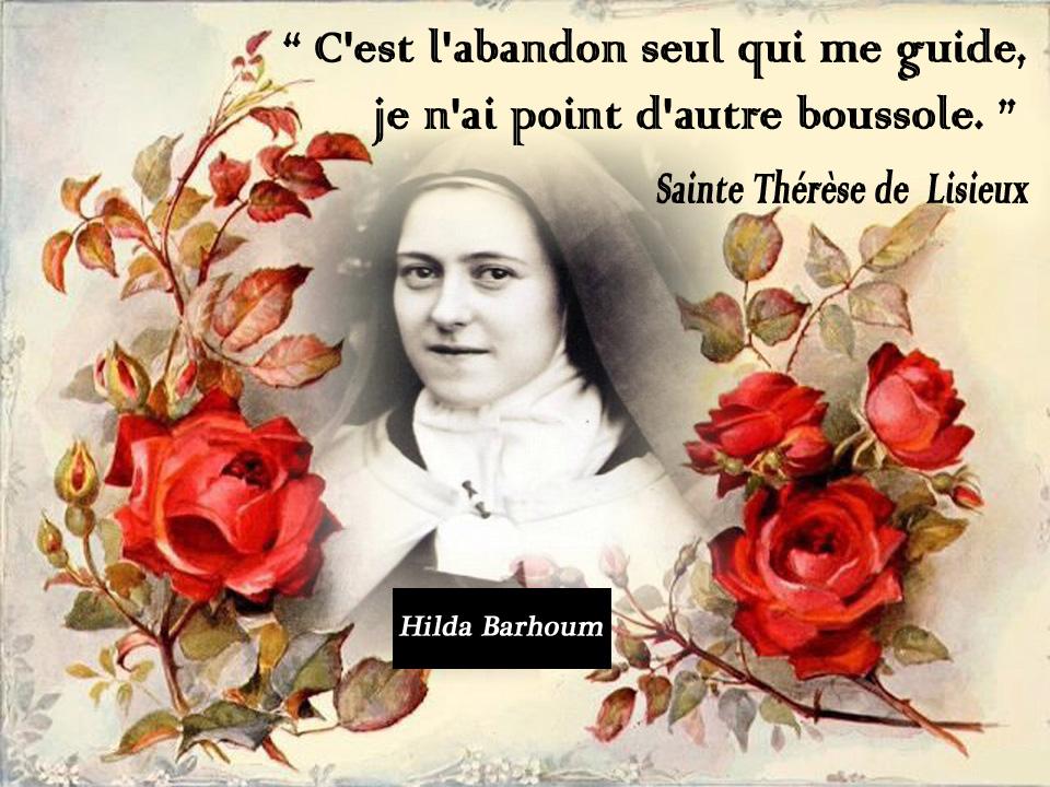 """Résultat de recherche d'images pour """"Citations sur l'abandon de Thérèse de Lisieux"""""""