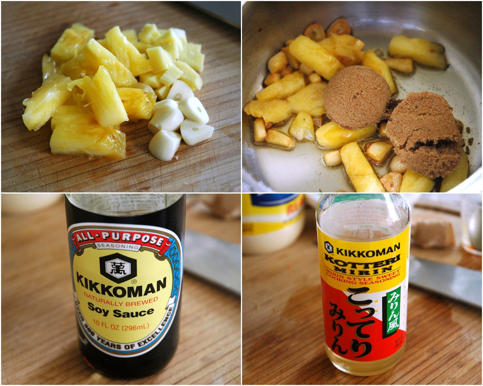 You Ll Need A Lot Of The Same Ingredients That You Cooked The Chicken With Garlic Ginger Pineapple Sesame Oil Brown Sugar And Soy Sauce