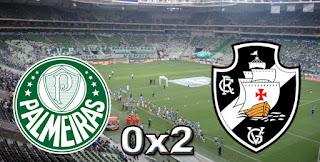 Palmeiras 0x2 Vasco