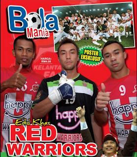 Jom Serbu Majalah The Red Warriors!!