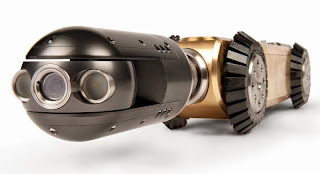 Pipe inspection robots mean greater independence from the operator, higher speeds, image quality and overall efficiency