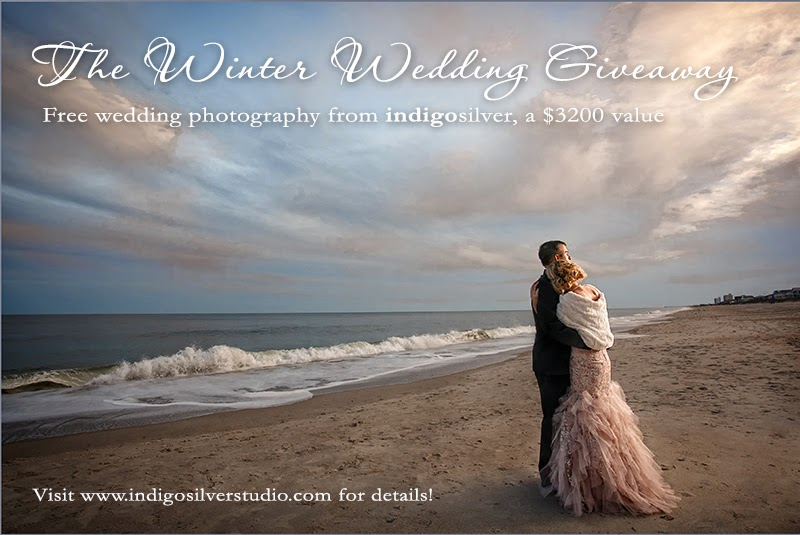 the winter wedding giveaway | free wedding photography from indigosilver