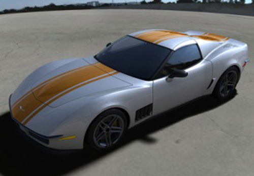 Chevrolet Corvette Stingray Concept Wallpaper. C3R Corvette Stingray Design