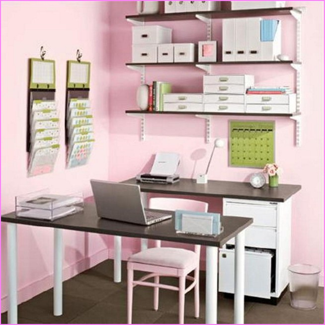 artikel terkait small work office decorating ideas