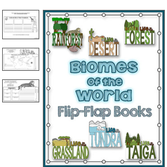 http://www.teacherspayteachers.com/Product/Biomes-of-the-World-Flip-Flap-Books-Expository-Writing-Resources-992003