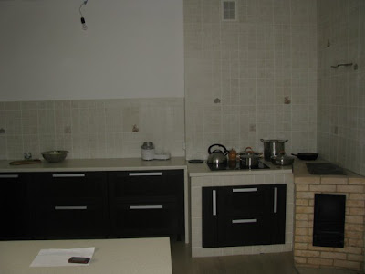 Кухня с новой мебелью