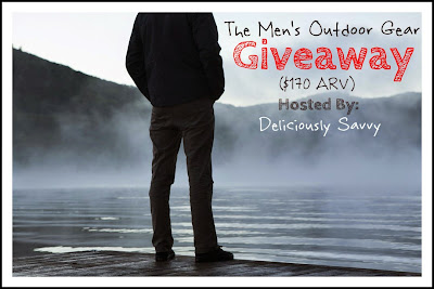 Men's Outdoor Gear Giveaway ($170 ARV) ~ Co-Host