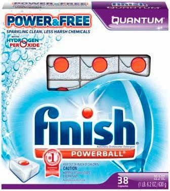 Enfin, un détergent pour lave-vaisselle avec moins d'agents chimiques #FinishPowerFree