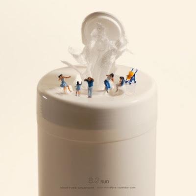 fountain Tatsuya Tanaka Miniature Calendar