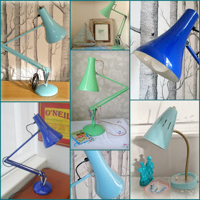 Our Vintage lamp restorations