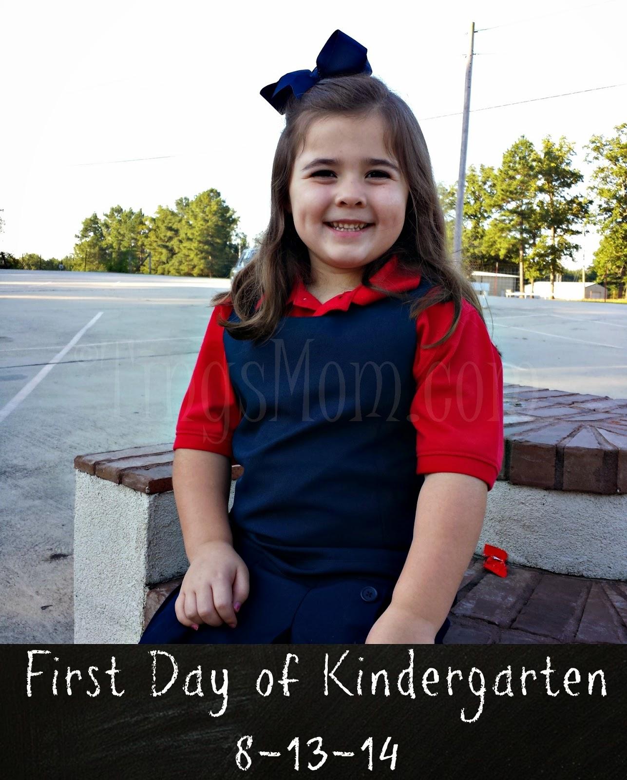 First Day of School | #kindergarten #preschool #school