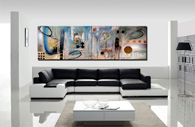 "Abstract Painting ""The Big Dream"" by Dora Woodrum"