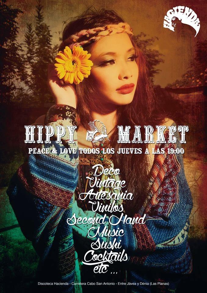 HIPPY MARKET LA HACIENDA - jávea, agosto 2014