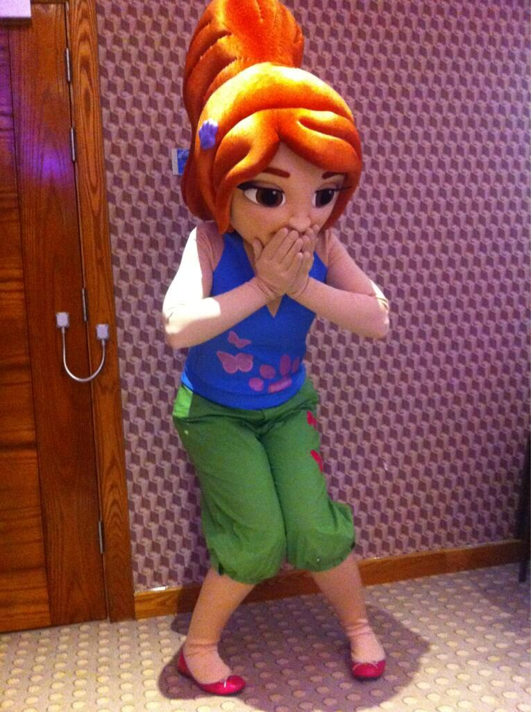 Lego friends character costume for lego events