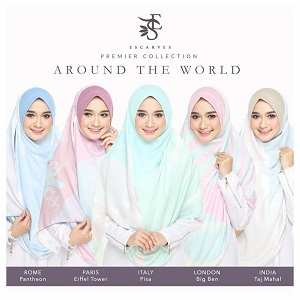 INSTANT SHAWL LABUH AROUND THE WORLD