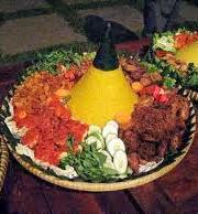 resep nasi kuning tumpeng, cara membuat nasi kuning tumpeng, cara memasak nasi kuning tumpeng