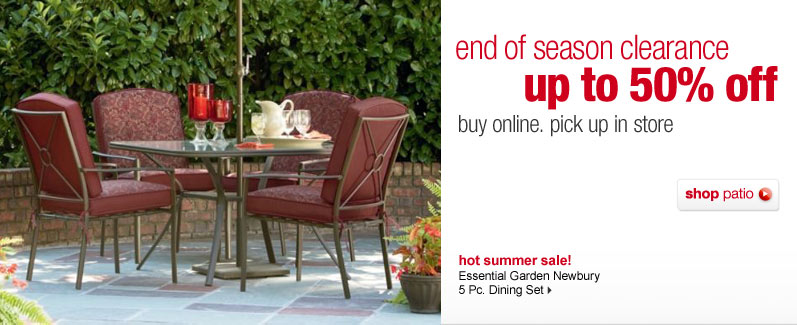 Thrifty Pals Kmart Patio Clearance Order line Pick up