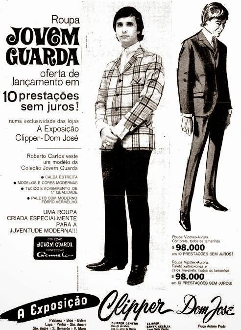 JOVEM GUARDA - MODA