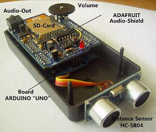 Sensor de distância com Arduino