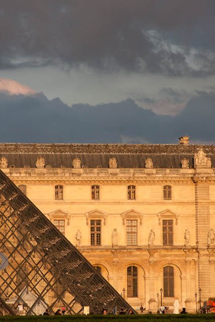 Louvre at sunset
