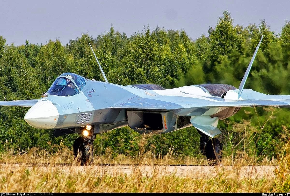 Russian PAKFA Fighter Jet