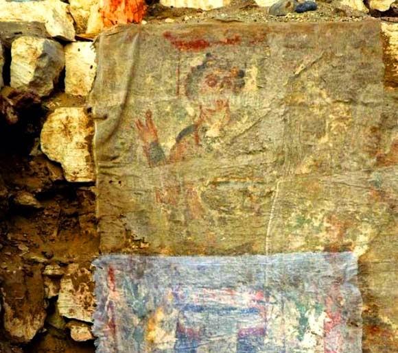 Sabidur as de las culturas antiguas hallazgo arqueol gico - Pintura mural barcelona ...