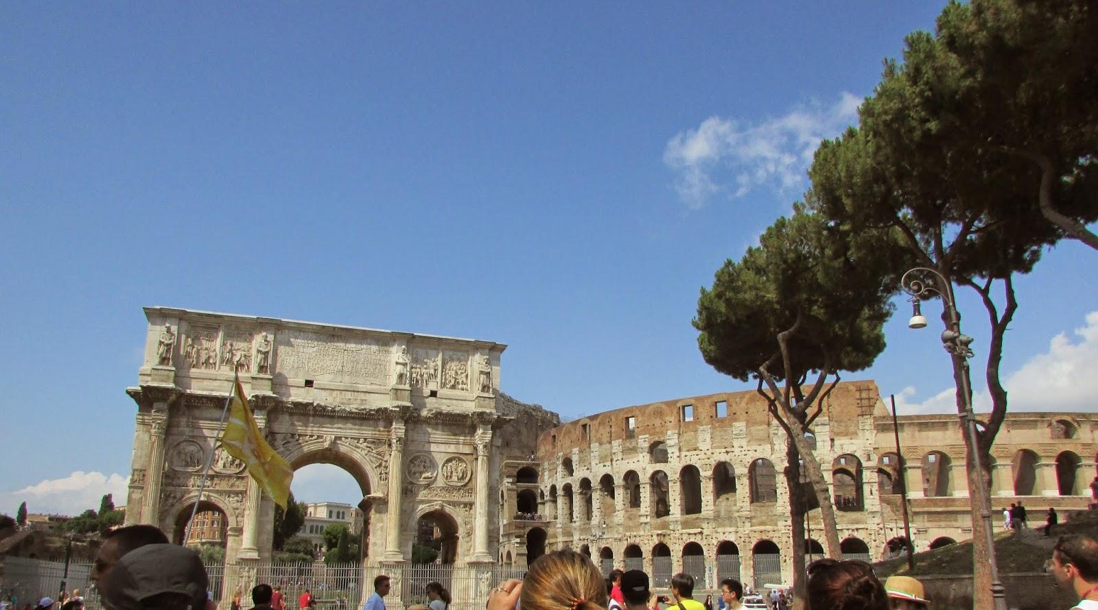 Itália, Roma, turismo, Europa, Italy, travel, trip, viagem, Italia, Vaticano, Basílica de São Pedro, Circus Maximus, Palatino, Arco de Constantino