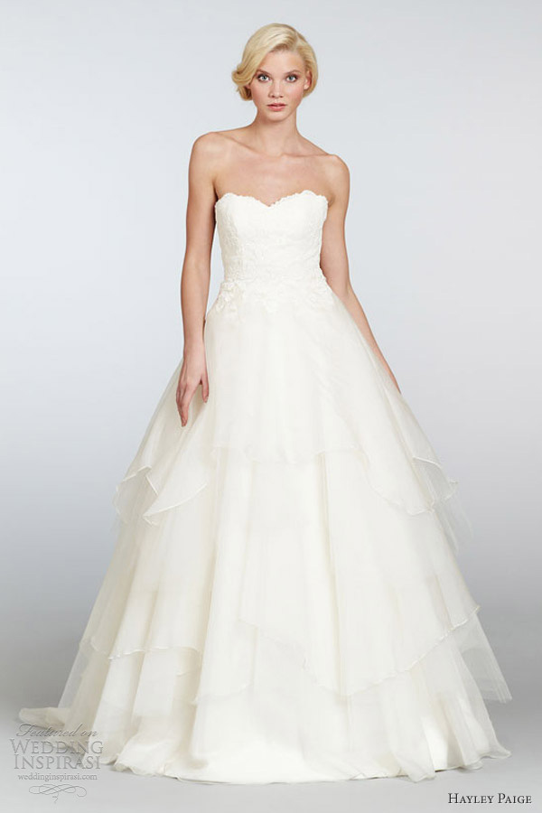 Honey buy hayley paige 2013 spring summer wedding dresses for Summer dresses for weddings