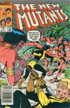 New Mutants #8 comic pic
