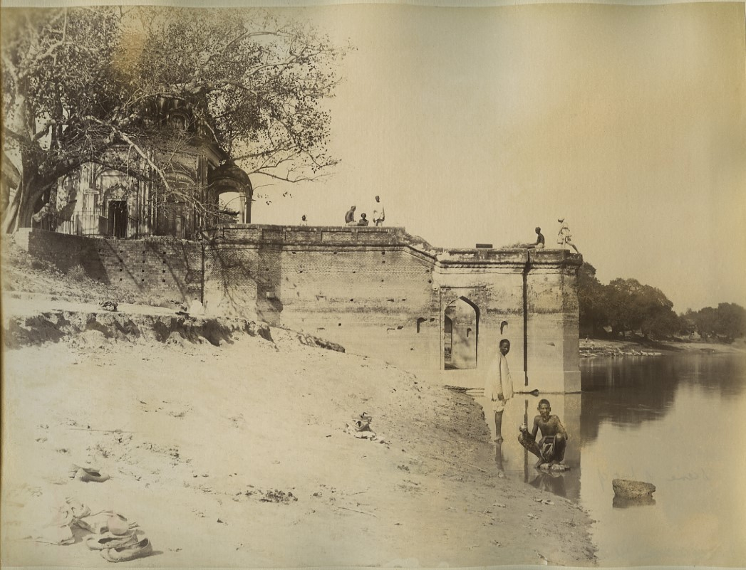 Kanpur India  city images : ... Sati Chaura Ghat Cawnpore Kanpur India 1880s Old Indian Photos