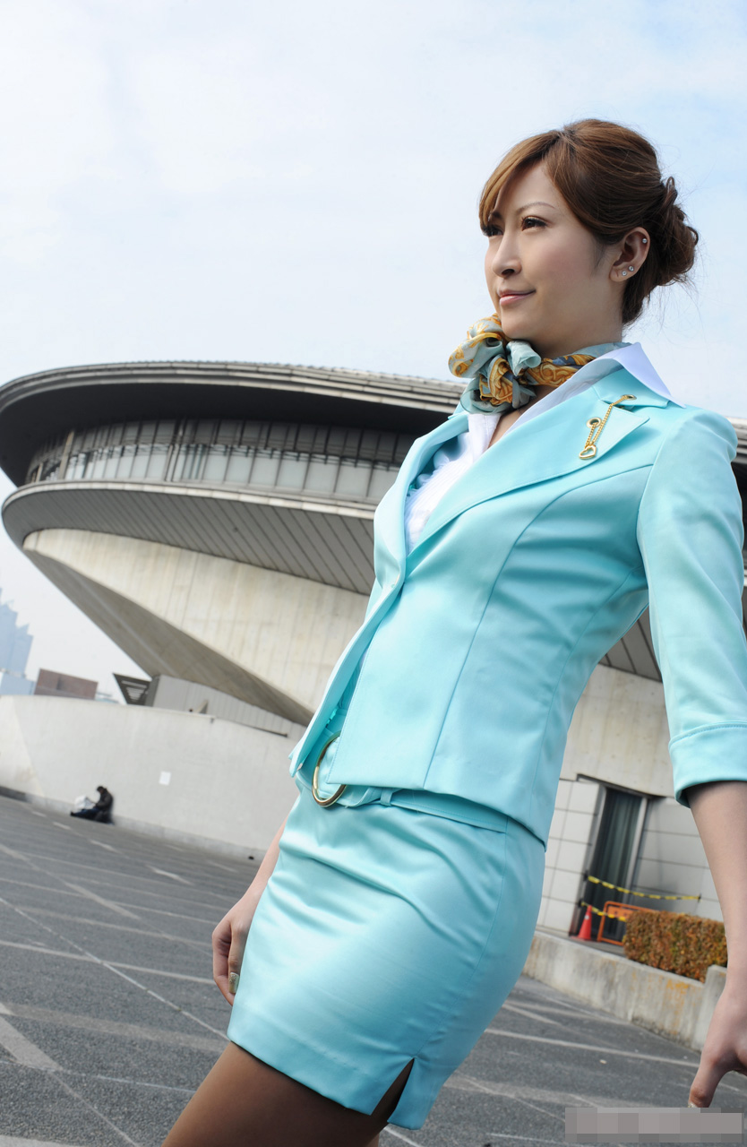A chinese airline stewardess loves p 6
