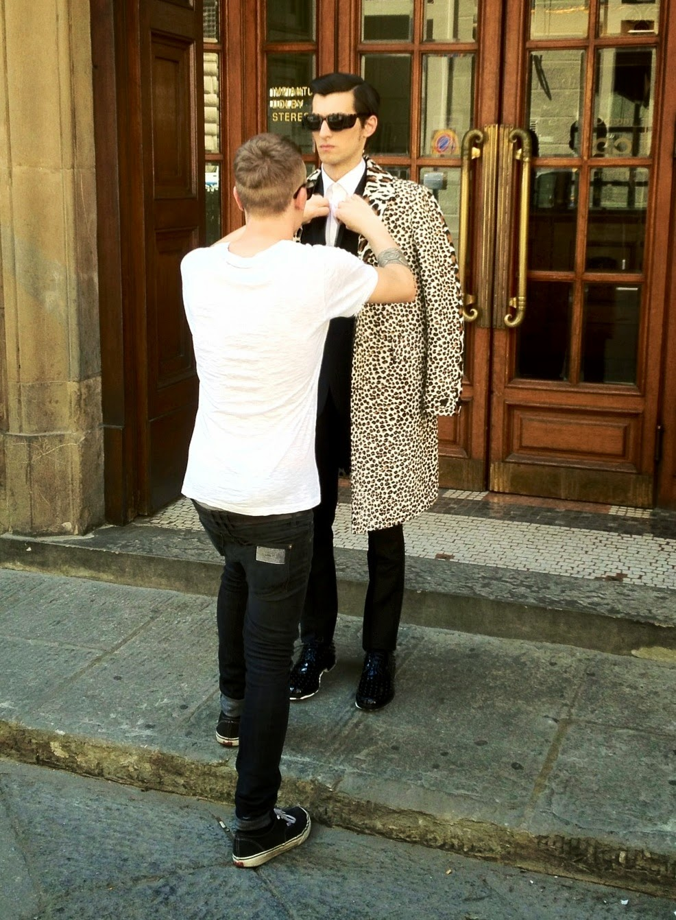 00O00 Menswear Blog: Behind the scenes at @LuisaViaRoma's #Firenze4Ever Styling Sessions