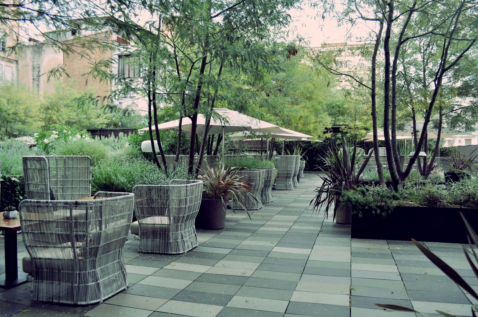 La florinata en la ciudad las mejores terrazas de barcelona for Terrazas de hoteles en barcelona