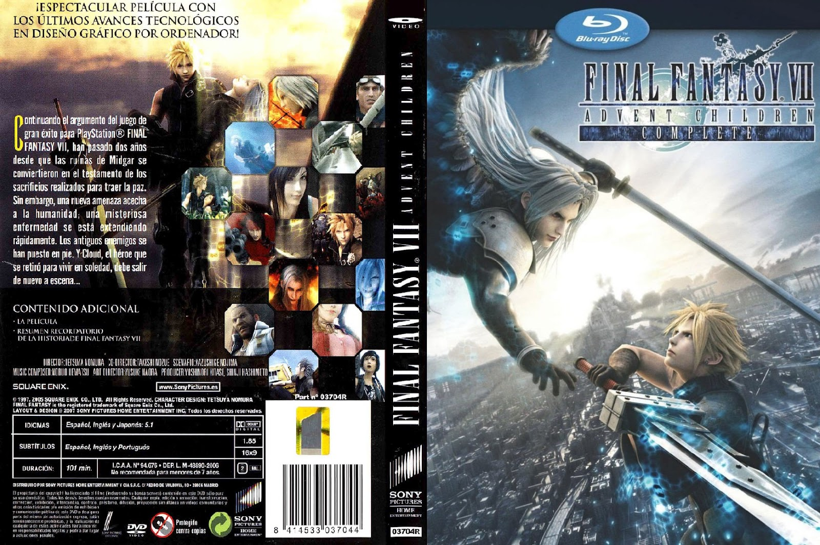 final fantasy vii advent: